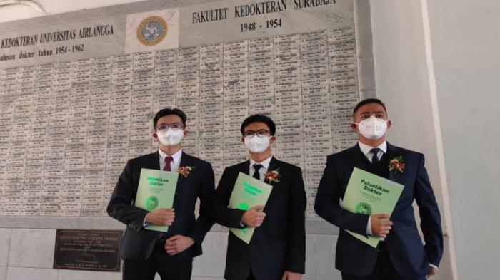 Dokter Baru FK Unair Langsung Ikut Pelantikan Relawan Covid-19, Rela Tak Pulang & Jauh dari Keluarga