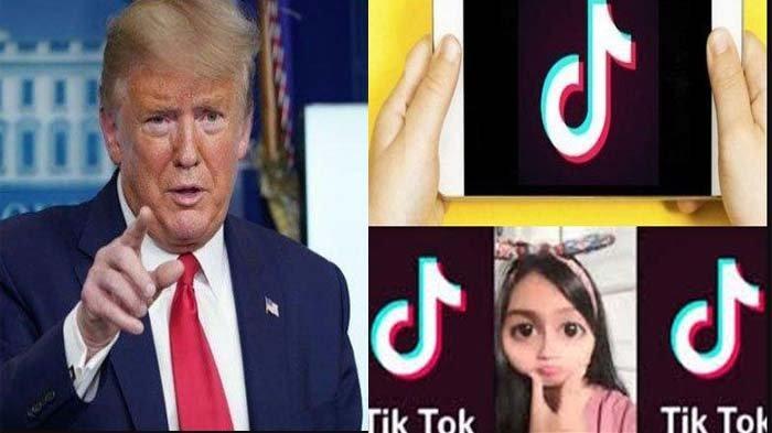 Donald Trump Larang Penggunaan Tik Tok di Amerika Serikat, Diduga Terkait 'Jual Beli' Data Warganya