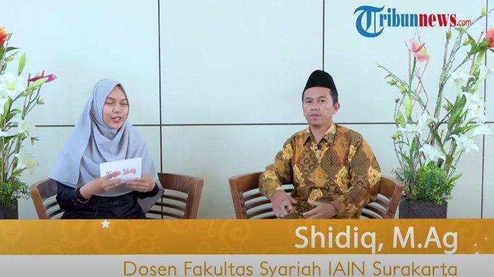 Dosen Fakultas Syariah IAIN Surakarta, Shidiq M.Ag menjelaskan hukum makan setelah imsak