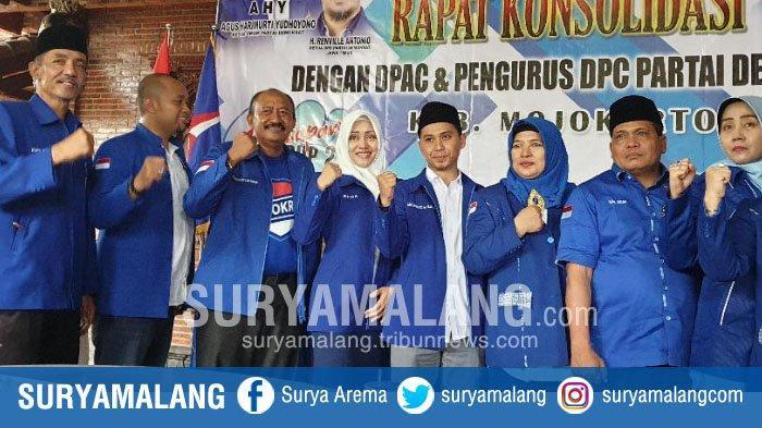 Partai Demokrat Dukung Pasangan Ikhfina-Gus Barra di Pilbup Mojokerto 2020