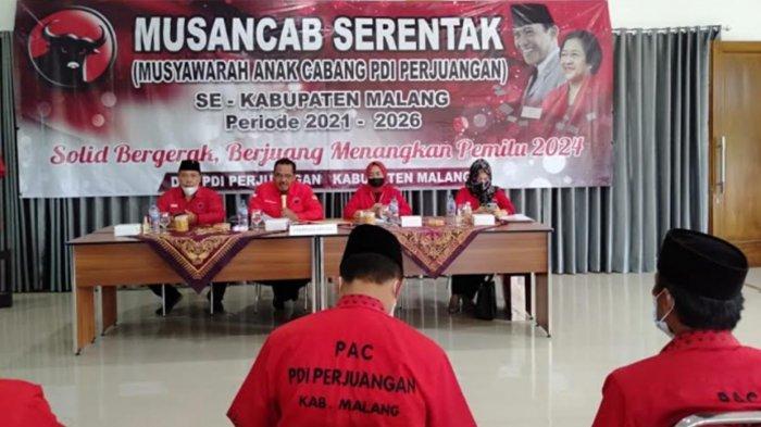 Persiapan Pileg dan Pilpres 2024, DPC PDIP Kabupaten Malang Bentuk Struktur PAC Baru