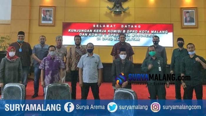 DPRD Kota Blitar Terapkan Protokol Kesehatan Ketat saat Terima Tamu DPRD Kota Malang dan Mojokerto