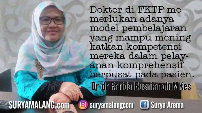Farida Rusnianah, Doktor Baru di Fakultas Kedokteran Universitas Islam Malang