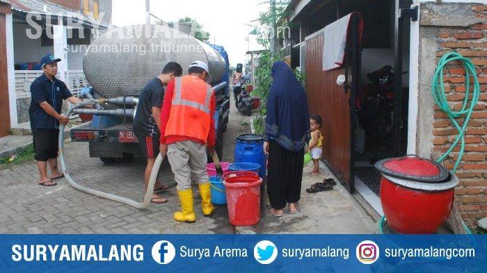 Pipa PDAM Bocor, Warga Kota Malang Krisis Air Bersih 5 Hari
