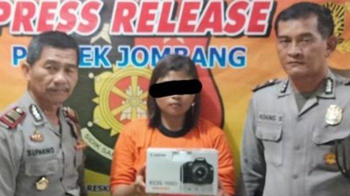 Riesta Bawa Kabur Dua Kamera DSLR Sewaan di Jombang