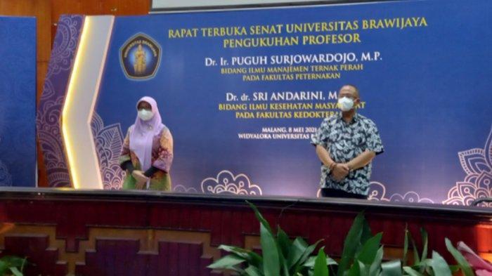 2 Profesor Baru UB dari Fakultas Peternakan dan Fakultas Kedokteran