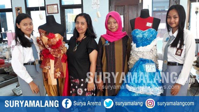 Bikin Bangga Deh, Dua Siswi SMKN 7 Kota Malang Raih Prestasi di Bidang Fashion dan Modeling