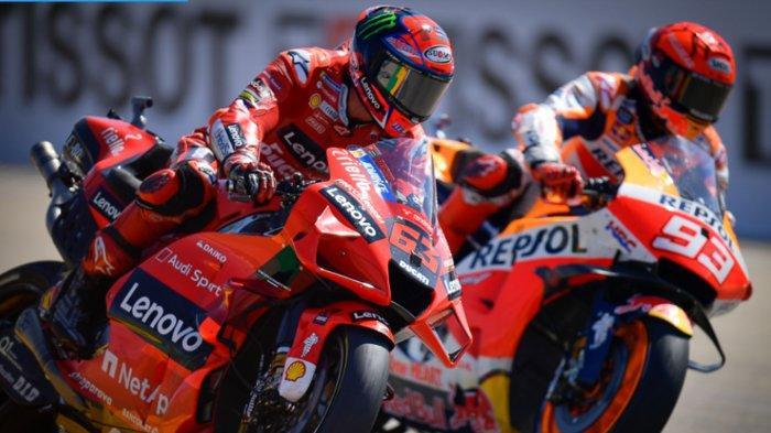 Klasemen Pembalap MotoGP 2021 Usai GP Aragon 2021, Murid Rossi Francesco Bagnaia Tempel Quartararo