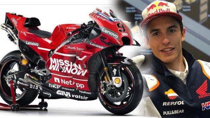 Jelang MootGP Italia 2019, Upaya Ducati 'Membajak' Marc Marquez dari Honda Makin Terbuka