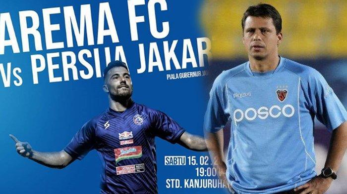 Duel Sengit Arema FC vs Persija Jakarta, Mario Gomez Pasang Dave Mustaine, Sergio: Kita Lihat Nanti