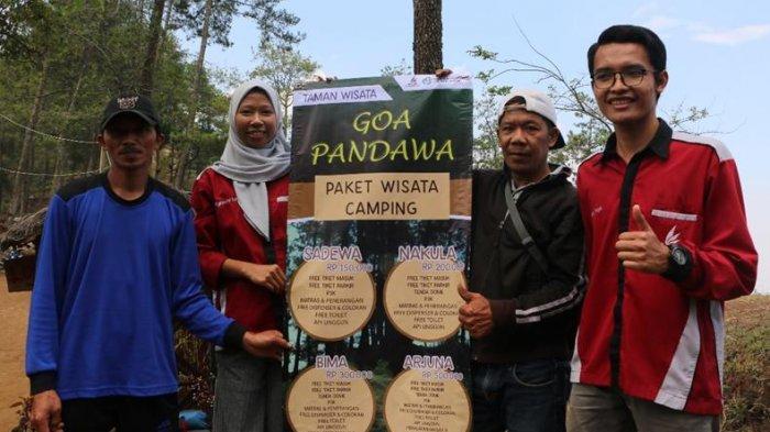 UKM Riset dan Karya Ilmiah UB Malang Bantu Kembangkan Wisata Goa Pandawa dan Lainnya di Dusun Brau
