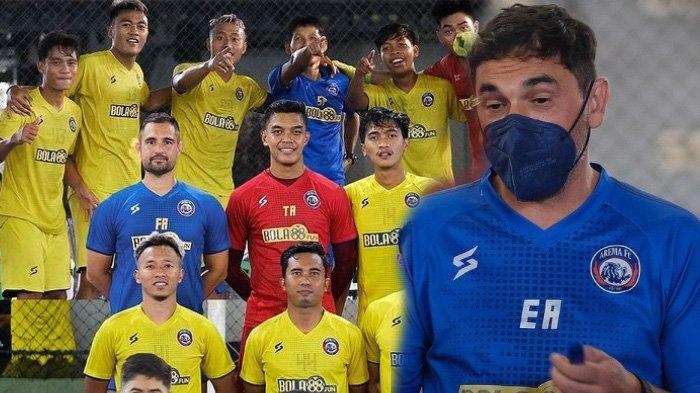 Arema FC Target Juara Tapi Belum Pernah Menang, Tiga Poin jadi Harga Mati saat Lawan PSS Sleman