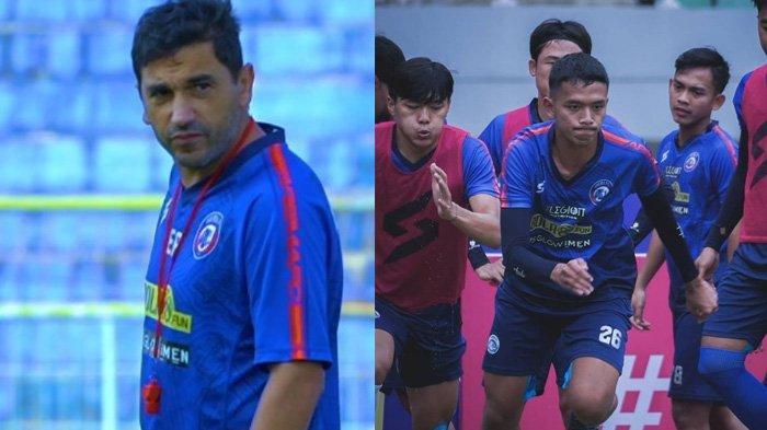Eduardo Almeida Pasang Badan untuk Pemain Arema FC, Tepis Nada Sumbang Jelang Lawan PSIS Semarang