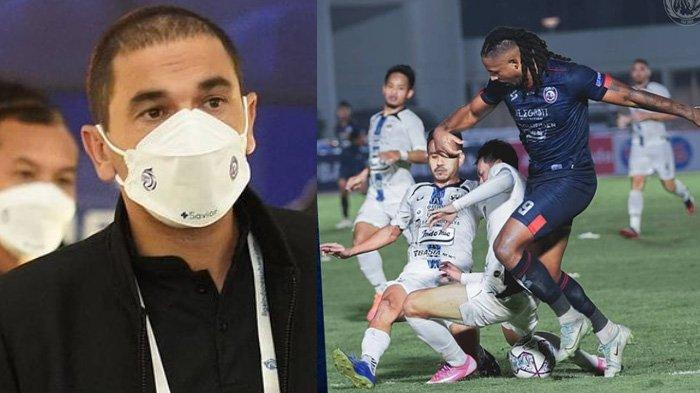 Pelatih Arema FC Eduardo Almeida Beberkan Alasan Soal Ketidak-puasannya dengan Hasil Seri Pertama