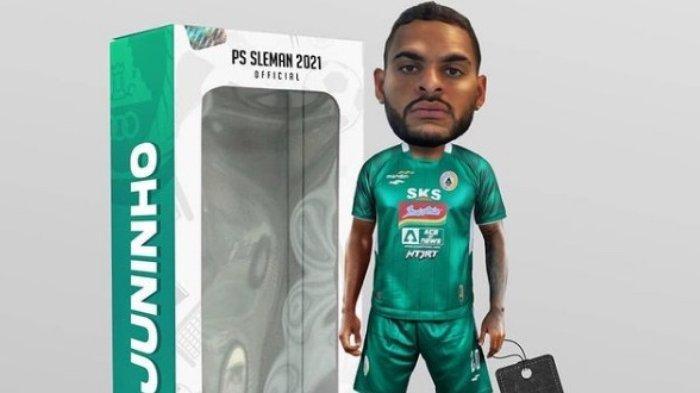 PSS Sleman Kenalkan Pemain Asing Baru Jelang Lawan Arema FC, Namanya Eduardo Jose BarbosadaSilva