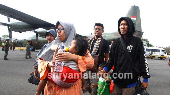 Ratusan Warga Jatim yang Terusir dari Wamena Tiba di Malang, Masih ada Ribuan di Papua