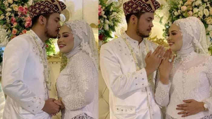 Elly Sugigi dan Aher menikah sirih
