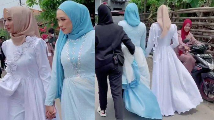 Heboh Reaksi Emak-emak Lihat Elsa Ikatan Cinta Jalan di Kampung Pakai Gamis, Glenca Bikin Pangling
