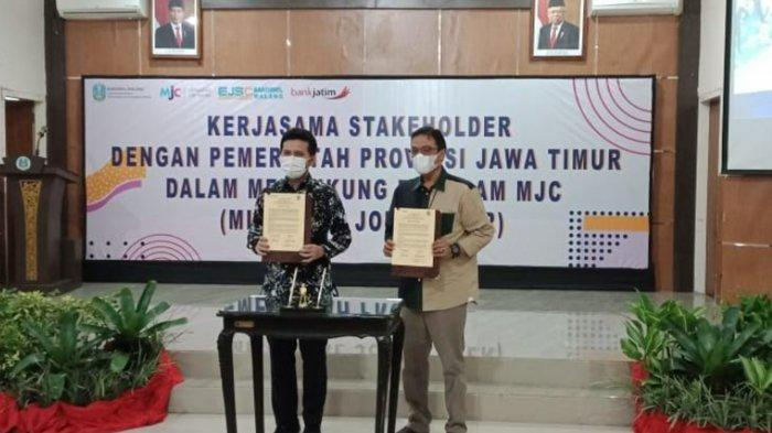 Gali Potensi Pemuda Bertalenta, Wagub Emil Dardak Ajak Mileneal Job Center Kolaborasi dengan UMKM
