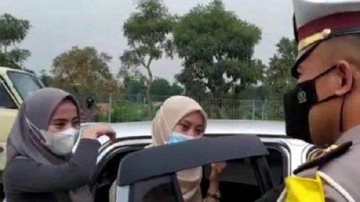 Diminta Putar Balik, Empat Gadis Cantik Asal Jakarta Menangis Ingin Mudik Bawa Surat Antigen Palsu