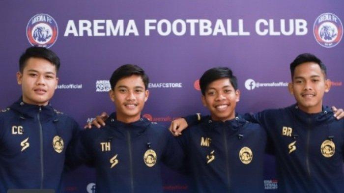 4 Pemain Junior dari Akademi Arema Dipromosikan Naik ke Tim Senior Arema FC