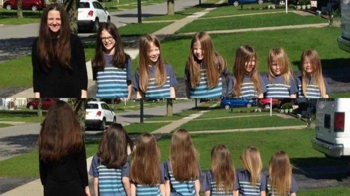 6 Bocah Pria Sering Dibully Karena Panjangkan Rambut, Ternyata Alasan di Baliknya Bikin Haru