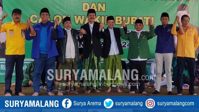 Enam Partai Deklarasi Usung Pasangan Fattah Jasin - Ali Fikri Warist di Pilbup Sumenep 2020