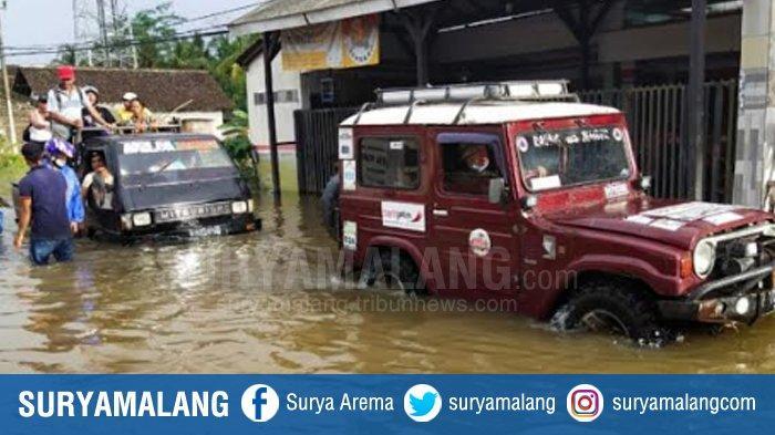 Banjir Susulan Kembali Landa 2 Desa di Tempurejo Jember