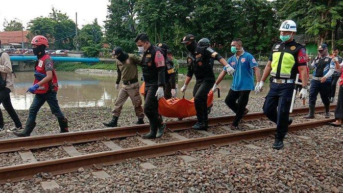 Pengamen Tewas Tersambar KA di Surabaya, Tubuhnya Terseret Sampai 500 Meter