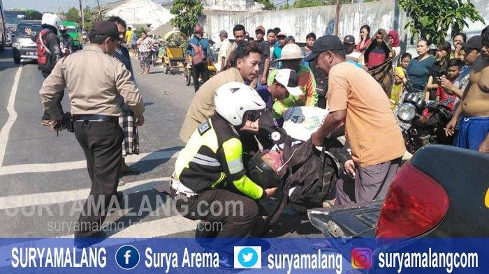 Gara-gara Hindari Barisan Kambing di Jalan Raya Tuban, Pengendara Motor Tewas Dihantam Truk Trailer