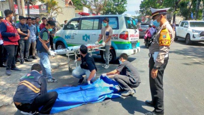 Kecelakaan di Kota Malang, Cewek 14 Tahun Tewas Terlindas Truk Gandeng