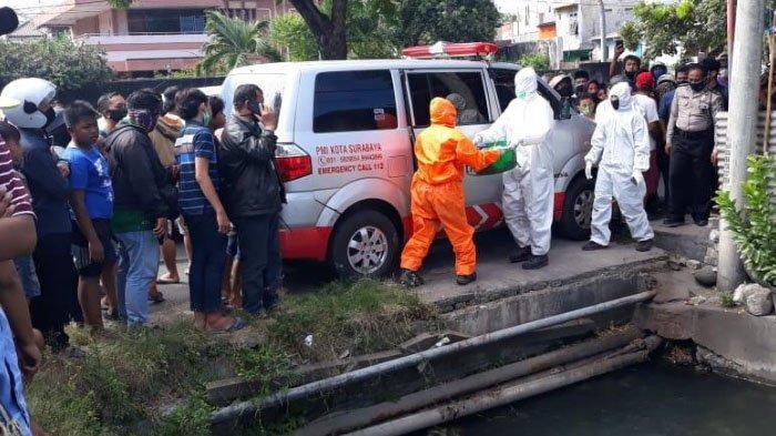 Heboh Penemuan Mayat Bayi Terbungkus Kresek di Surabaya, Leher Terjerat Tali Rafia