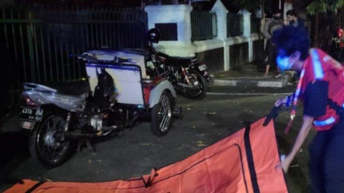 Diduga Kena Serangan Jantung, Kakek 61 Tahun Tewas Tertimpa Bentor di Kota Malang