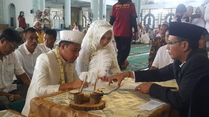 Evan Dimas Resmi Menikahi Dewi Zahrani, Akad Nikah di Masjid Agung Surabaya