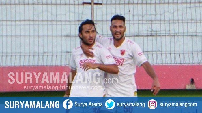 Gol Perdana Ezra Walian di Liga 1 Gagal Selamatkan PSM Makassar dari Kekalahan Atas Persipura