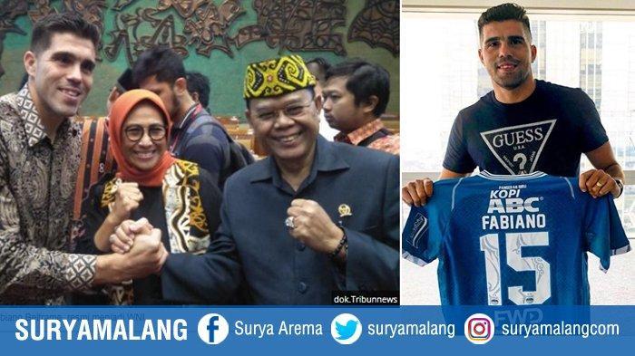 Mantan Arema Fabiano Beltrame Jadi WNI, Akhirnya Bek Persib Bandung Ini Dinaturalisasi