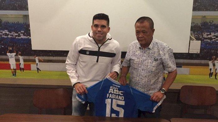 Gagal Perkuat Persib di Liga 1 2019, Fabiano Beltrame Juga Tak Bisa Perkuat Persib B di Liga 2 2019