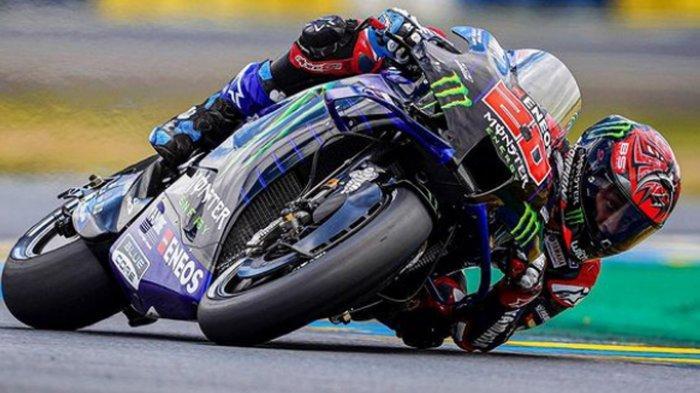 Update Klasemen Pembalap MotoGP 2021, Fabio Quartararo Diuntungkan Podium 3, Valentino Rossi ke 19