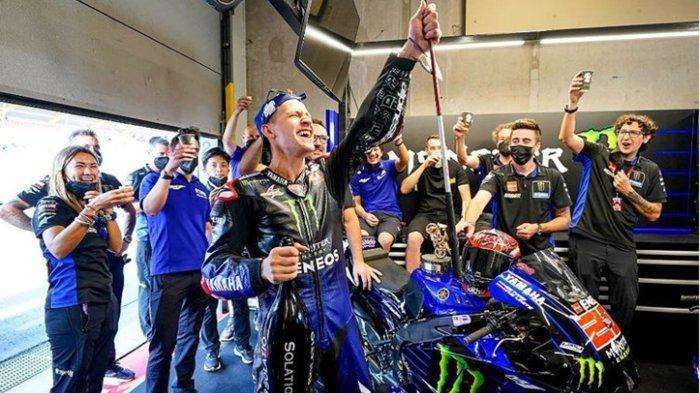 Gelar Juara Dunia MotoGP 2021 Siap Dikunci Fabio Quartararo, Ini Update Posisi Klasemen Pembalap