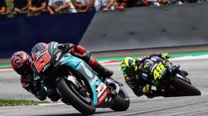 Jadwal MotoGP Inggris 2019, Fabio Quartaro Batalkan Rekor Marc Marqez, Valentino Rossi Dapat Hukuman