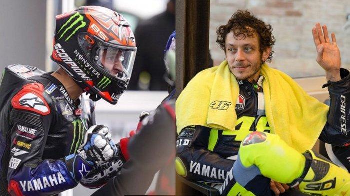 UPDATE Klasemen Sementara Pembalap MotoGP Usai Seri Prancis 2021, Quartararo ke Puncak, Rossi Bawah