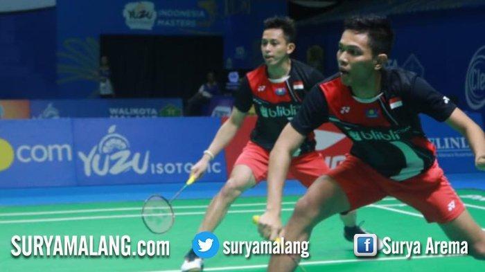 Juara Korea Open 2019 Fajar-Rian Kalah Lawan Ganda Putra Jepang di YUZU Indonesia Masters 2019