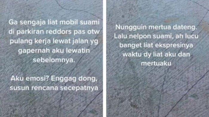 Fakta Istri Pergoki Suami Ngamar Bareng Selingkuhan, Tak Ingin Langsung Labrak & Motif Telpon Mertua