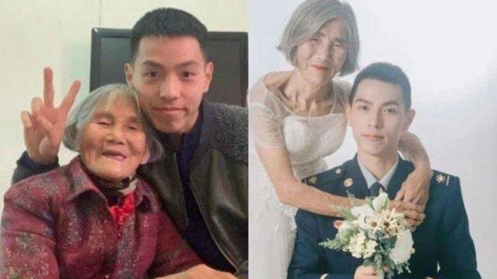 Fakta di Balik Foto Viral Pernikahan Nenek 85 Tahun dan Pemuda 24 Tahun, Ternyata Ada Faktor Dadakan