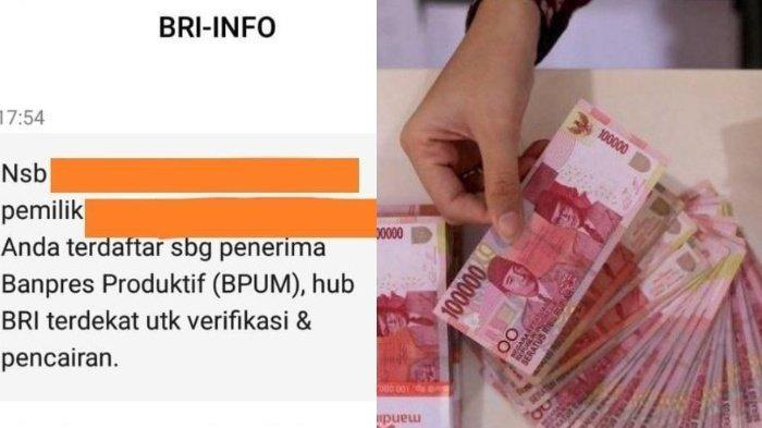 Fakta SMS BRI-INFO Penerima BPUM Rp2,4 Juta, Cek eform.bri.co.id/bpum dan Siapkan Dokumen Ini