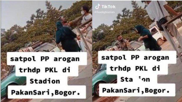 Fakta Sebenarnya Video Satpol PP Arogan Pada PKL Sampai Cekik Leher Warga, Kini Pelaku Terima Sanksi
