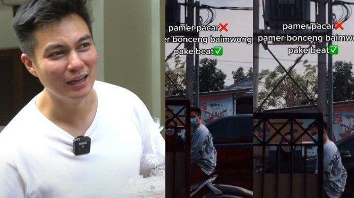Fakta Sebenarnya Sosok Wanita Pamer Bonceng Baim Wong Pakai Motor Beat, Ada Kisah Tersembunyi