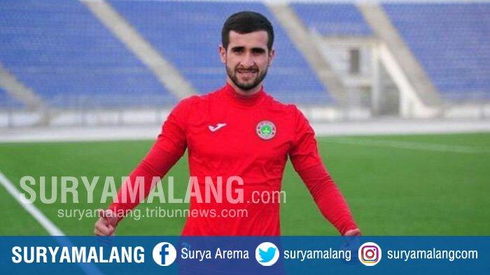 Resmi Dikontrak, Sore Ini Pemain Terbaik Liga Tajikistan Jalani Latihan Perdana Bersama Persela