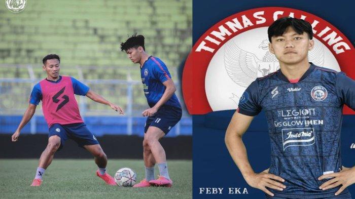 Feby Eka Putra Tinggalkan Arema FC Sepanjang Seri 2 Liga 1 2021 Demi Timnas U-23 Indonesia