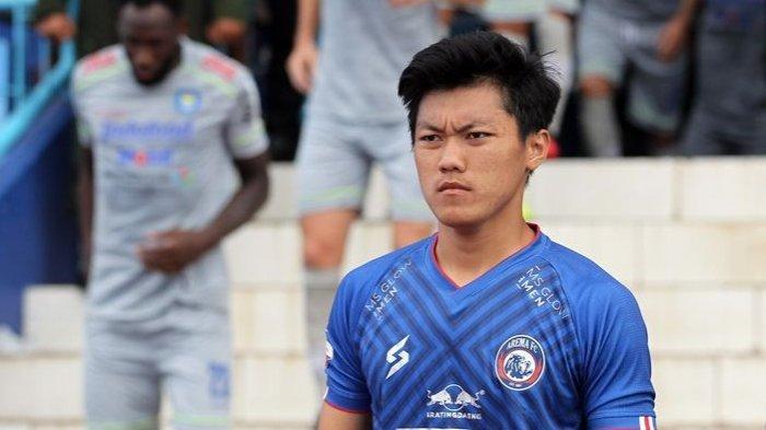 Gol Feby Eka Putra Bawa Arema FC Unggul Sementara 1-0 Atas Rans FC